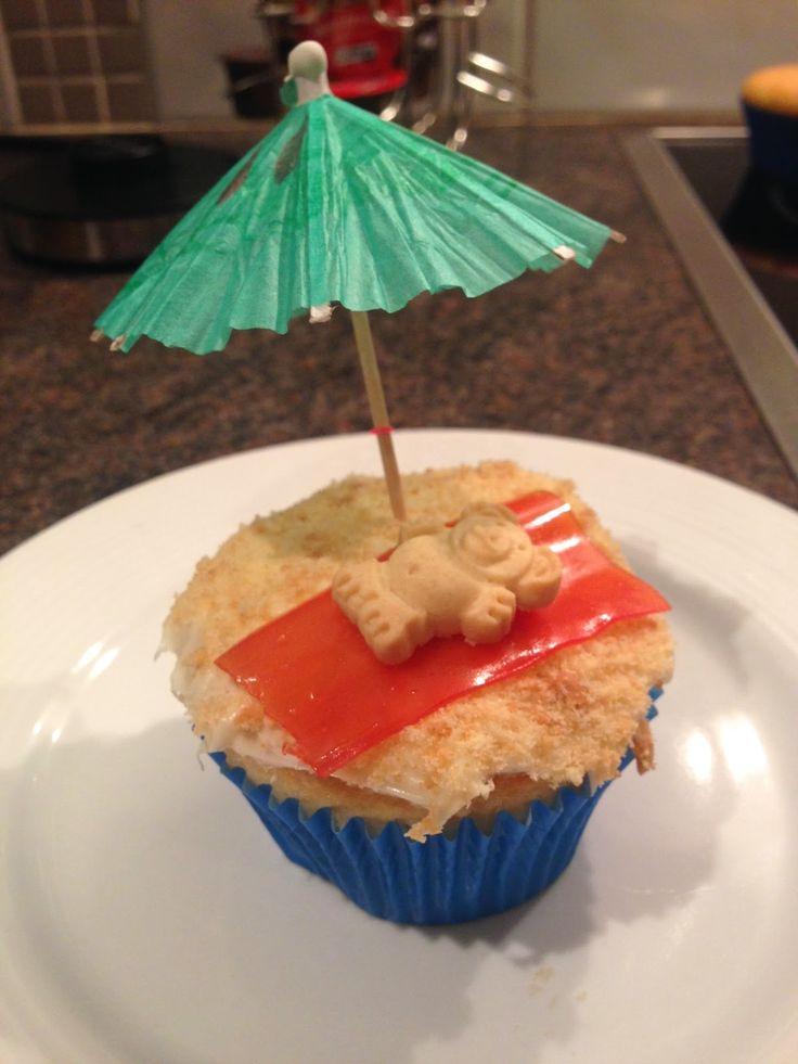 summer cupcake!