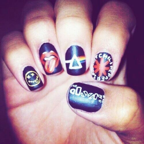 103 best nail art images on pinterest makeup band nails and c80c70dc479d495c024dd9131592fde4 pink floyd the doorsg prinsesfo Images