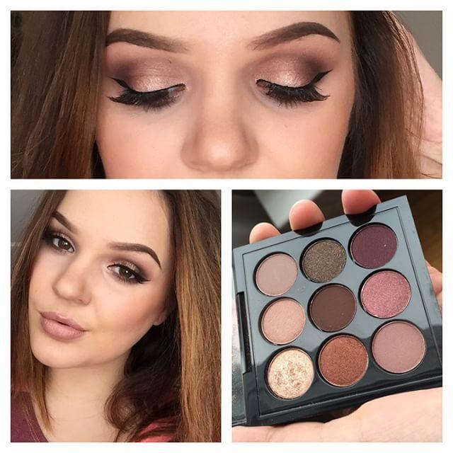 X9 burgundy eye palette! By MAC
