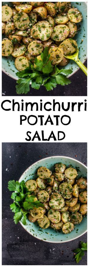 ... potato tian crispy potato salad with anchovy chimichurri crispy potato