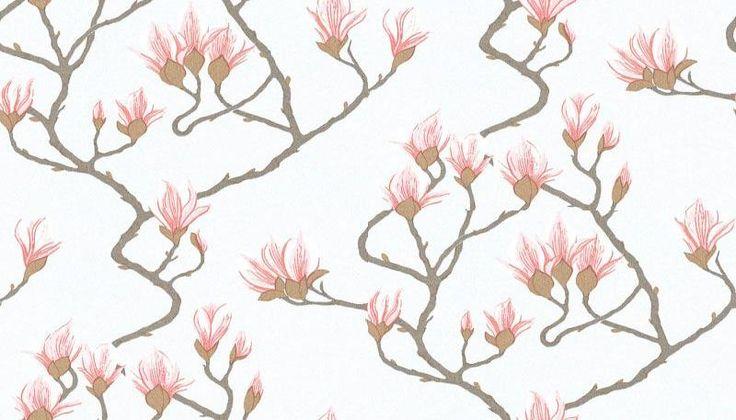 Magnolia Blue 72 3011 Cole Son Wallpapers