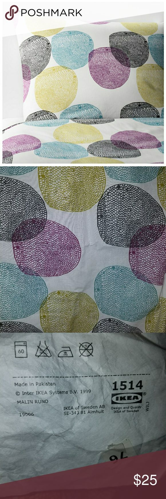 Ikea Malin Rund Twin Duvet and Pillow Case Excellent condition. We bought it and decided on something else. ikea Other