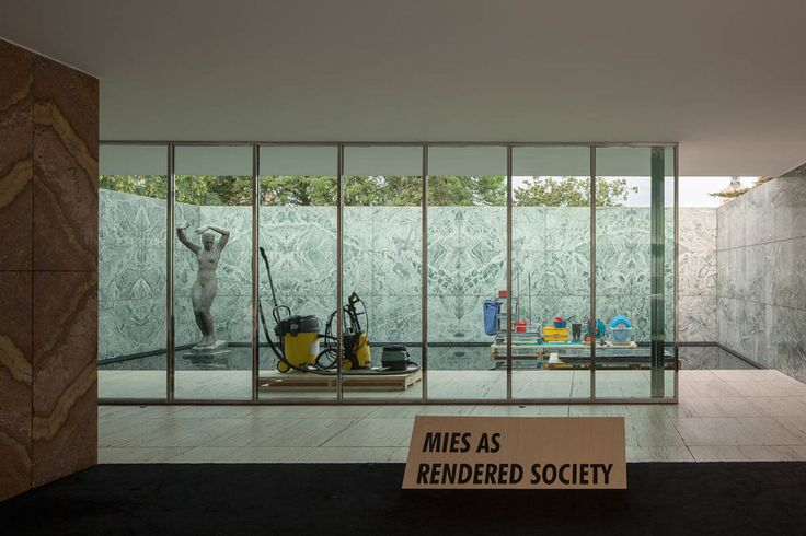 Andrés Jaque - Office for Political Innovation · PHANTOM. Mies as Rendered Society · Divisare