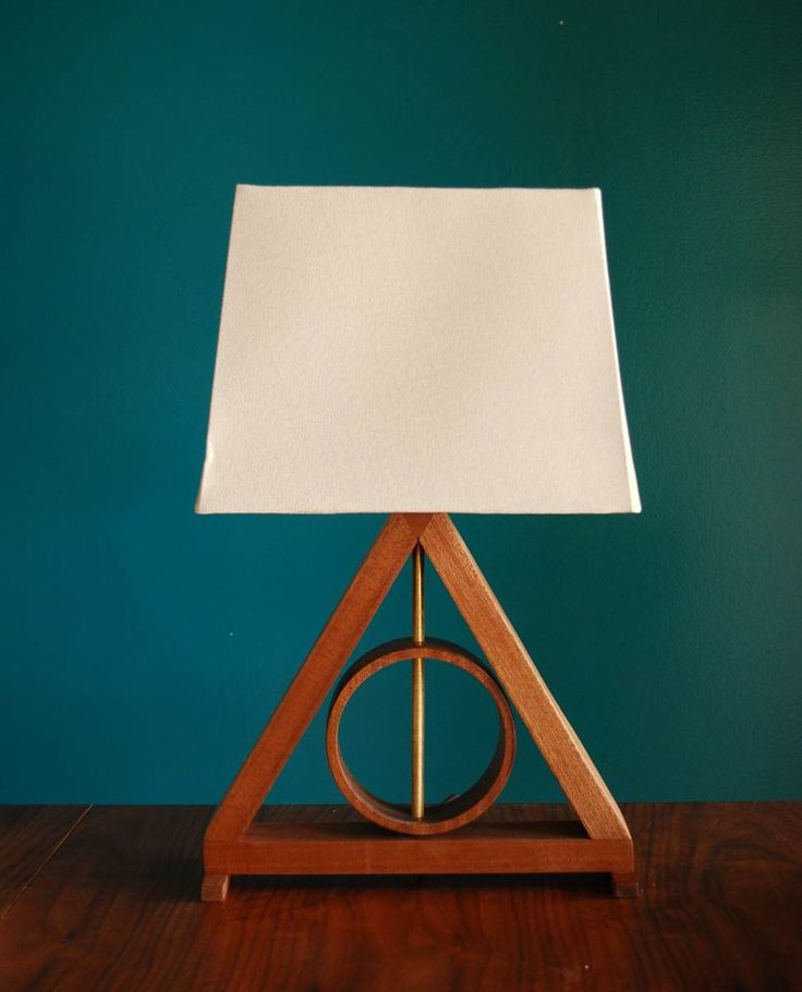 Harry Potter Deathly Hallows Lamp By Golden Ratio