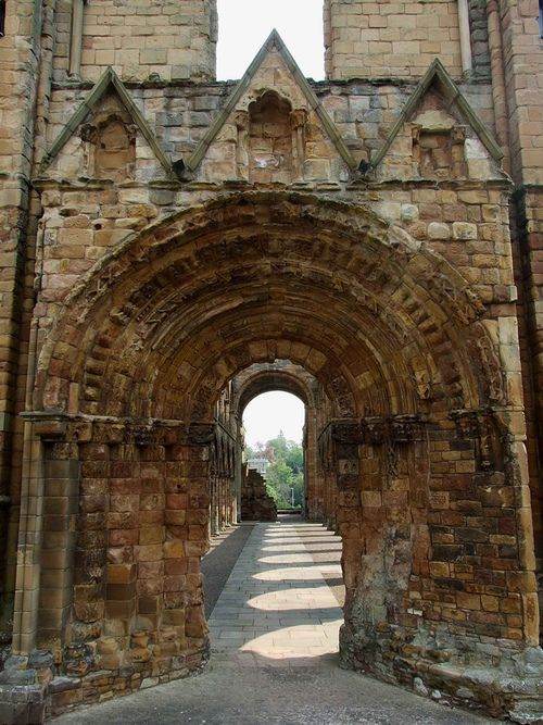 Medieval Portal, Jedburgh, Scotland photo via michael