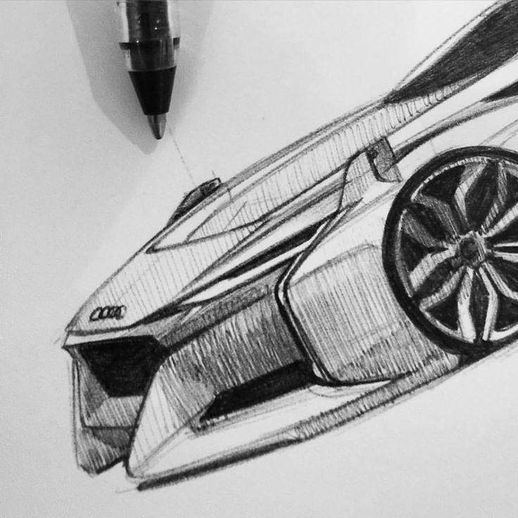 Florian Flatau Audi Sketch