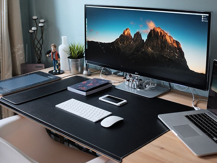 25 Best Ideas About Office Setup On Pinterest Cool Desk