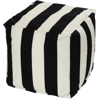 Striped Indoor/ Outdoor Beanbag Cube | Overstock.com Shopping - The Best Deals on Sofas, Chairs & Sectionals