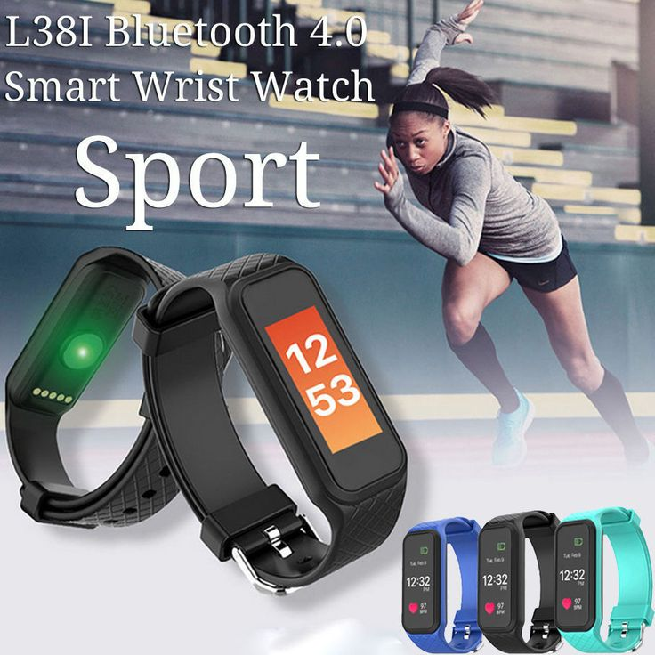 L38I Heart Rate Smart Health Bracelet Bluetooth Smart Band Dynamic Monitor OLED | Cell Phones & Accessories, Smart Watches | eBay!