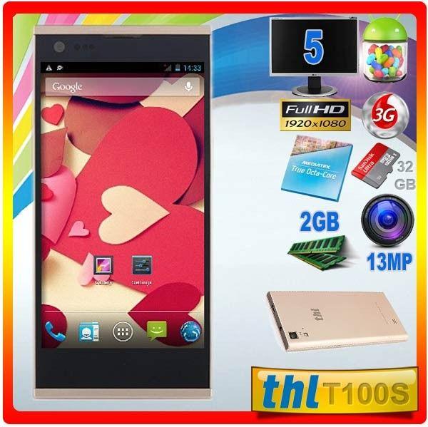 ThL T100S 2GB Octa Core 13MP Tienda Moviles Chinos Alta Gama Baratos