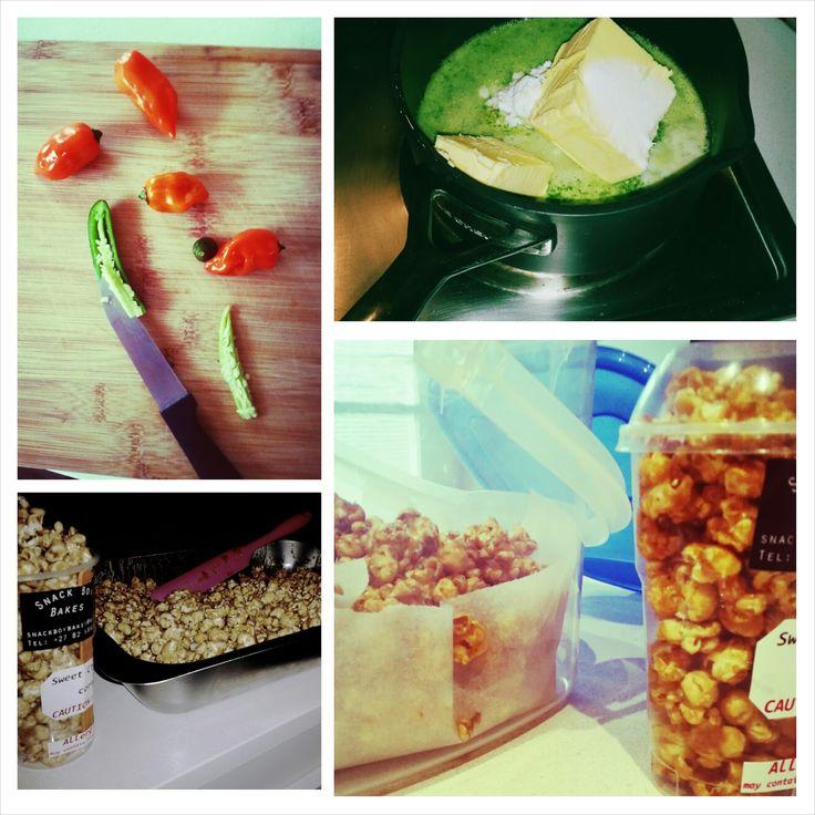 SnackBoyBakes: Sweet Chilli Popcorn