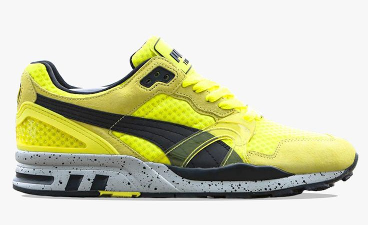 Puma Trinomic XT2 Mesh Evolution Pack: Yellow