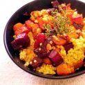 Kölessaláta tepsiben sült zöldségekkel | NOSALTY – receptek képekkel