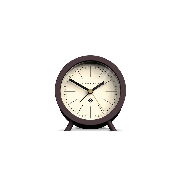 the fred newgate clocks a deep barrel alarm clock with tactile silicone finish