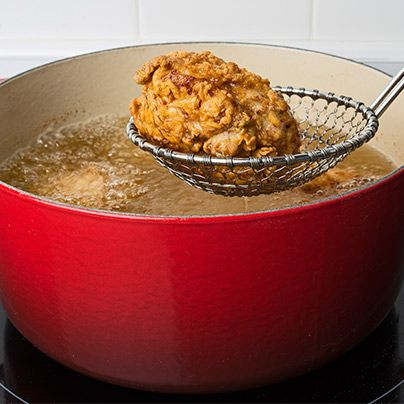 Crisp, golden, juicy and delicious. Learn how to make our fried chicken with serious crunch factor and hot, well-seasoned meat.