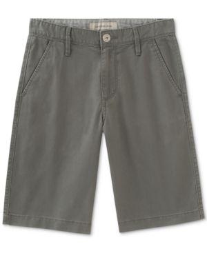 Calvin Klein Cotton Shorts, Toddler & Little Boys (2T-7) - Gray