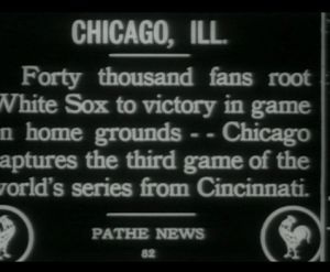 """Rare footage of 1919 World Series discovered in Canadian archive 
