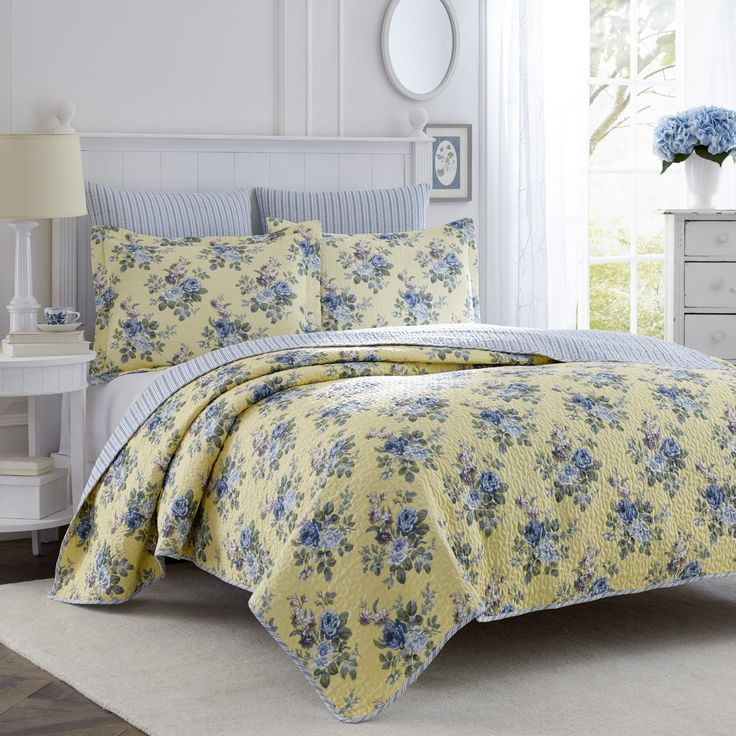 Laura Ashley Linley Quilt Set Full/Queen >>> Check out the