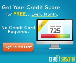 Be Smart about your credit and keep an eye on it FOR FREE!