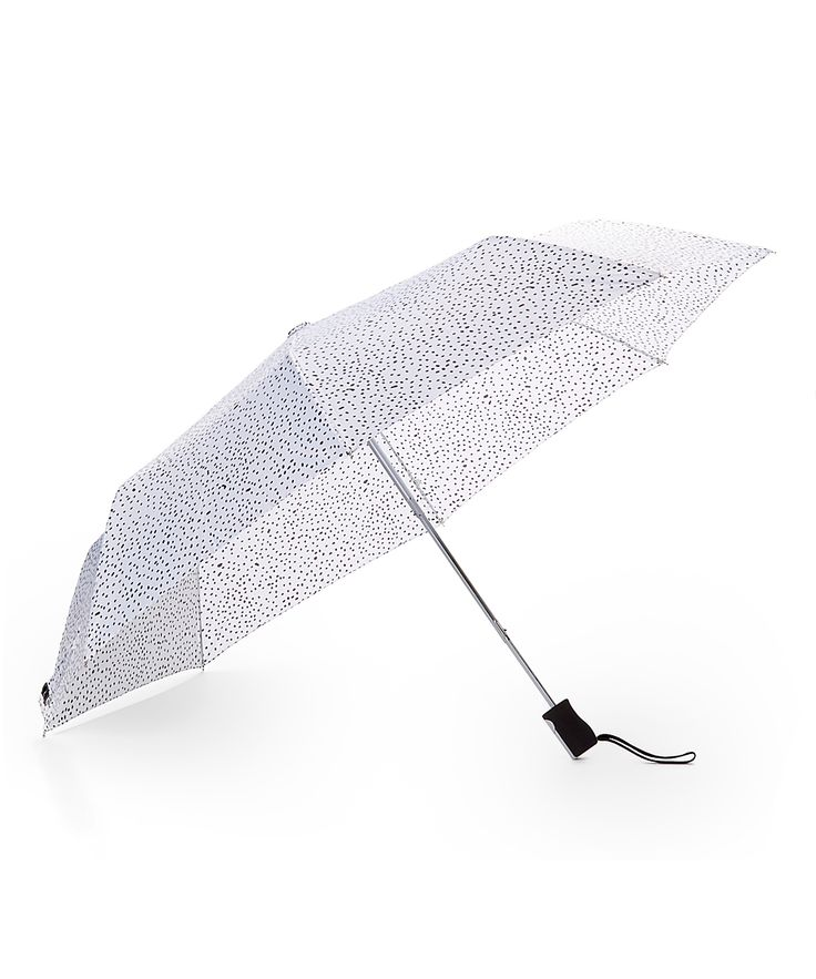 White Dot Compact Umbrella