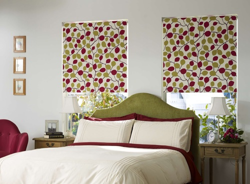 This vibrant fabric will brighten any room.  It comes in a variety of colours, and is one of my personal favourites.  You can see fabric swatches at http://www.blindsonline.com.au/roller-blinds/roller-bonded/bonded-classic-roller