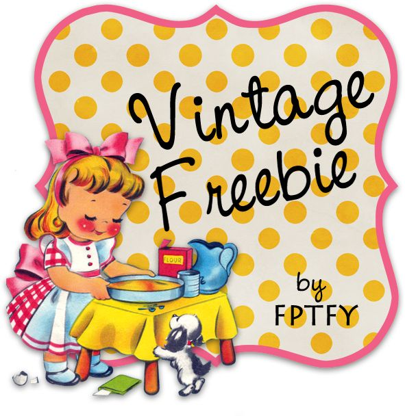 Free vintage clip art  digital frame by FPTFY web ex