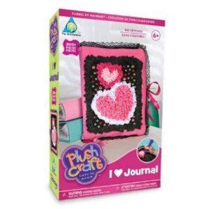 Orb Factory Plush Craft I LOVE Journal by Treasure Trove. $18.99. 35+ sticky jewels. 1 stylus. 200 fabric pieces. 1 journal. Arts & Crafts Educational & Fun Adults will love the no mess Improves hand and eye co-ordination Fun For All Ages