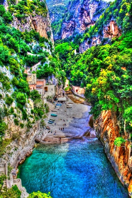 Secluded Beach, Amalfi, Italy