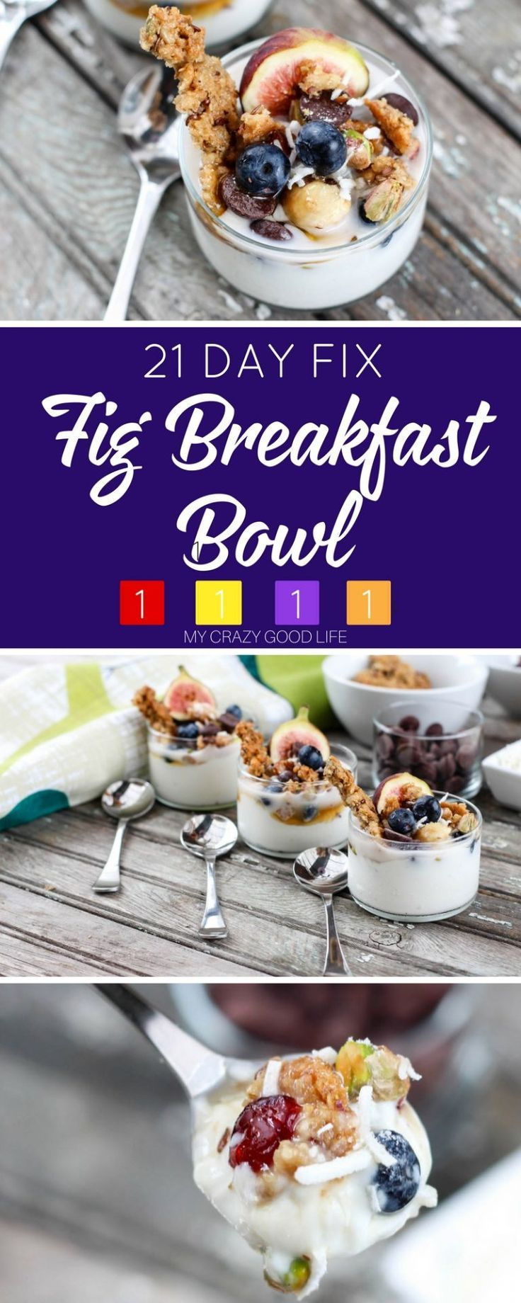 They say that the first meal of the day is the most important one...celebrate in style with this delicious and healthy fig breakfast bowl! Updated to include 21 Day Fix ingredients and container counts.