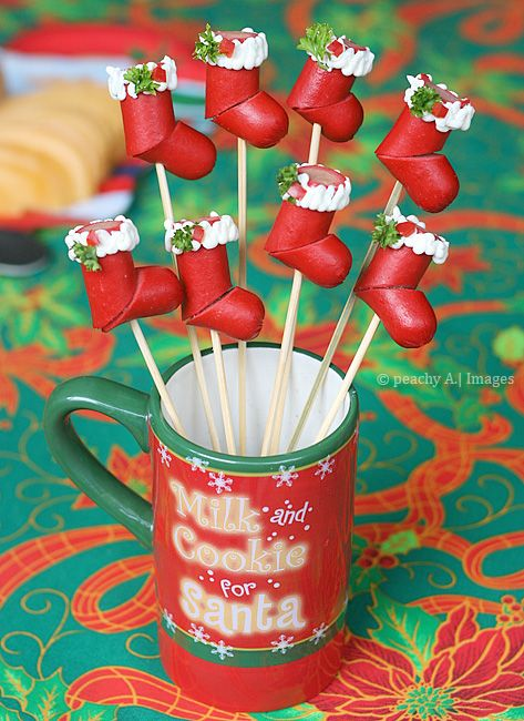 Hotdog Christmas Stockings