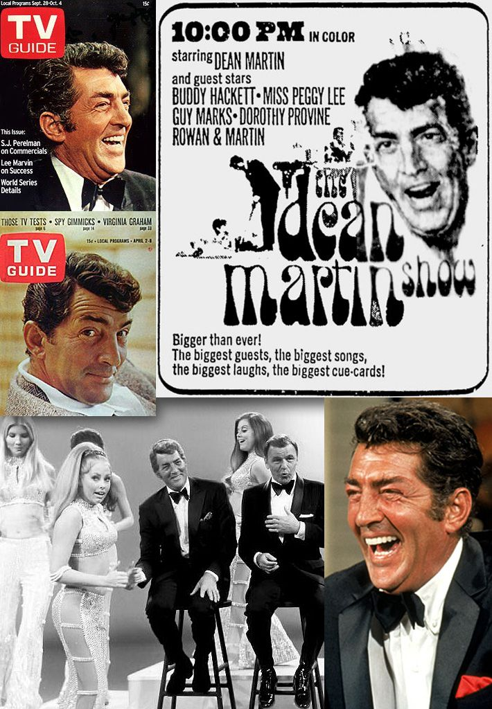 "The Dean Martin Show (1965 - 1974) NBC. There'll NEVER be another like Dean Martin....""Everybody loves somebody sometime..."""