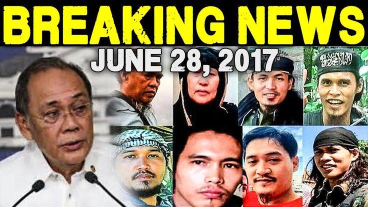 BREAKING NEWS TODAY JUNE 28 2017 PALASYO NANINDIGAN NA WALANG NEGOSASYON...