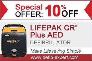 10% OFF - LifePak Defibrillator