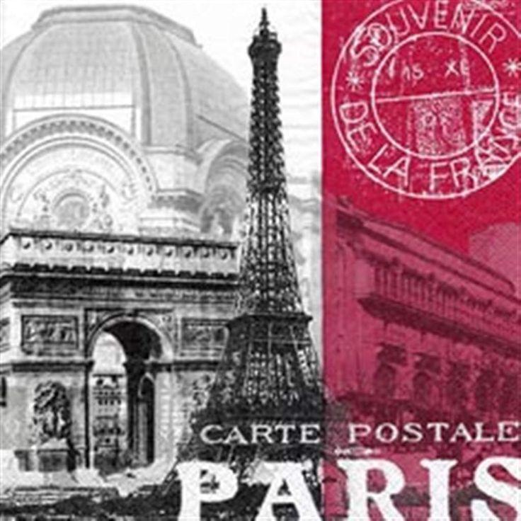 Global City-Paris - lunch napkin #9623173 $4.99 www.lambertpaint.com