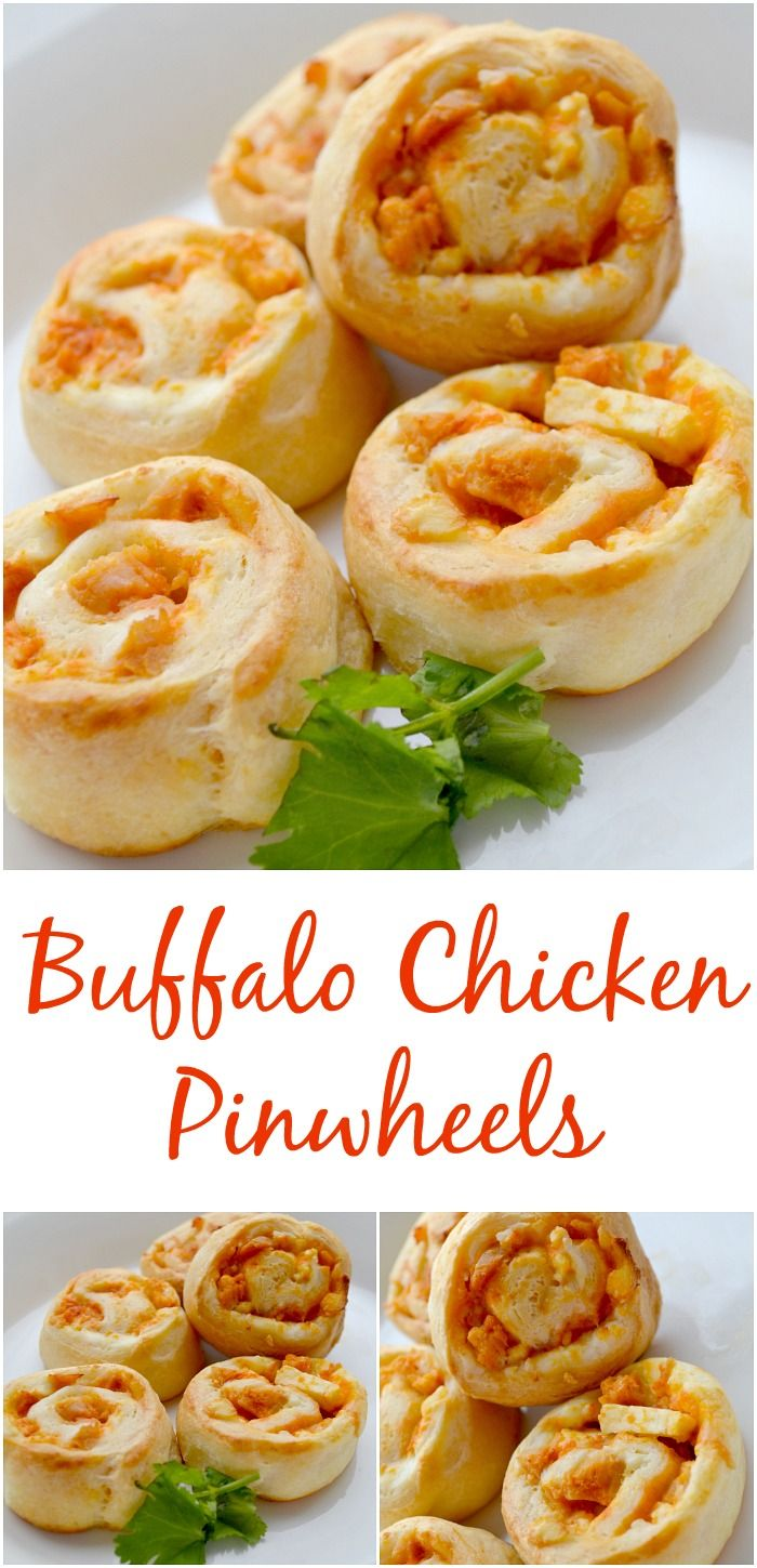Fall Family Meals With Pillsbury: Buffalo Chicken Pinwheels