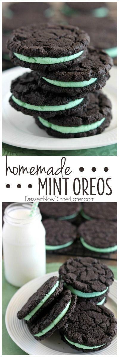 ... Cookie, Homemade Mint, As Buttercream, Chocolate Sandwich Cookie, Mint