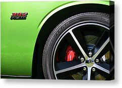 2011 Dodge Challenger Srt8 392 Hemi Green With Envy by Gordon Dean II - 2011 Dodge Challenger Srt8 392 Hemi Green With Envy Photograph - 2011 Dodge Challenger Srt8 392 Hemi Green With Envy Fine Art Prints and Posters for Sale