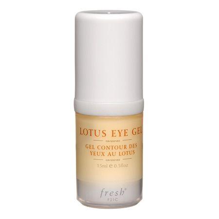 Fresh: Lotus Eye Gel Gel refrescante, revitalizante e hidratante que alivia la hinchazón y signos de fatiga.