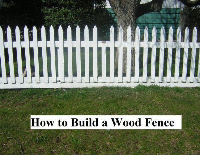 So Bauen Sie Einen Holzzaun Bevor Sie Sich Mit Den Grundlagen Des Lernens Befassen Holzzaun Lernen Zaun