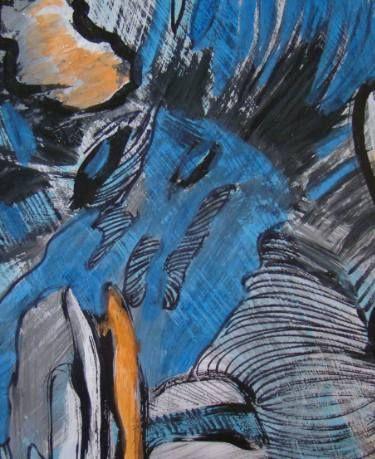 "Saatchi Art Artist Agata Padol; Painting, ""The River"" #art"