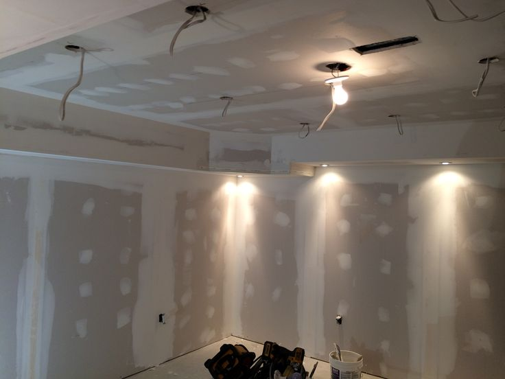 We installed 72 pot lights in this basement
