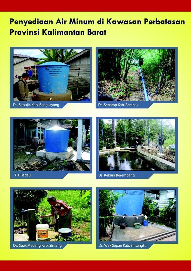 Penyediaan Air Minum di Kawasan Perbatasan Kaliman Barat