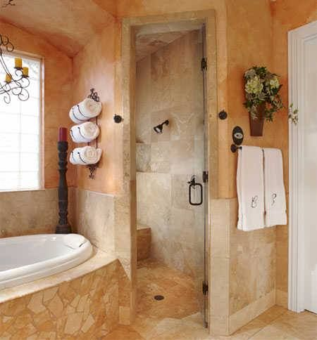 Tuscan bathroom                                                                                                                                                                                 More