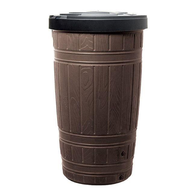 Zbiornik Prosperplast Woodcan 265 L Brazowy Zbiorniki Trash Can Small Trash Can Glassware