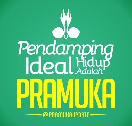 Pendamping Hidup Ideal adalah Pramuka