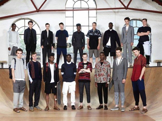 Charlie & Joe Casely-Hayford on Spring Summer 2014 'Secret Colonies'