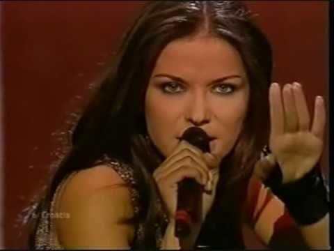 Eurovision 2002 Croatia - Vesna Pisarović - Everything I want