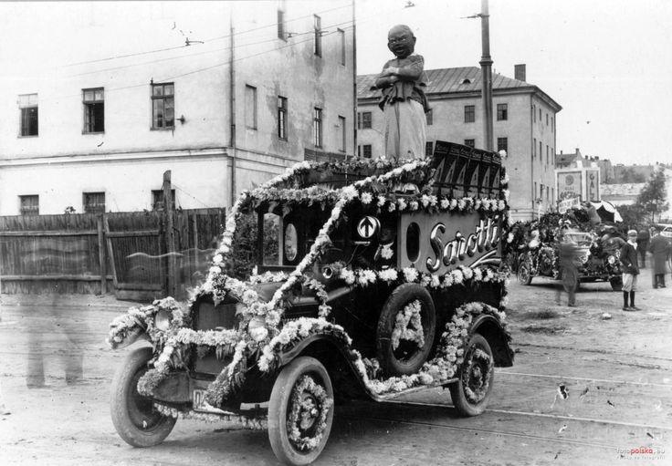 Zdjęcia niezidentyfikowane, Lwów - 1920 rok, stare zdjęcia