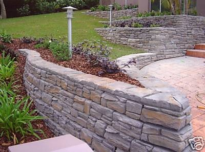 ezi stone retaining wall blocks unique diy product ebay on wall blocks id=35692