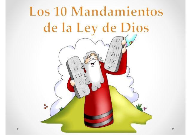 Los 10 Mandamientos De La Ley De Dios Con Imagenes De Fano Mario Characters Character Fictional Characters